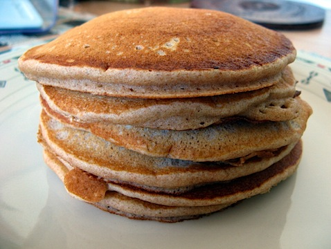 Whole Wheat Pancakes « Fossil Foods